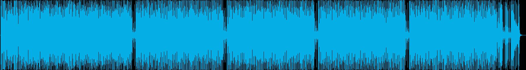 CMやオープニング等_カントリー風BGMの再生済みの波形