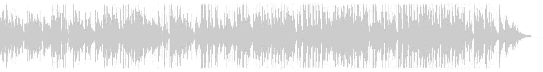 グルメ番組などに合いそうなJazz2の未再生の波形