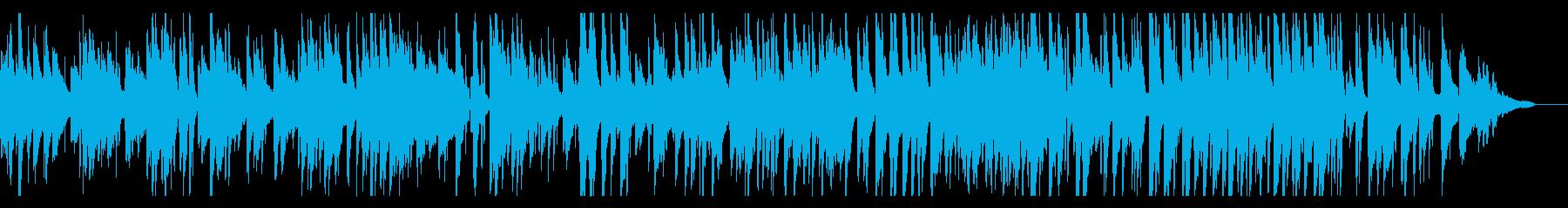 グルメ番組などに合いそうなJazz2の再生済みの波形