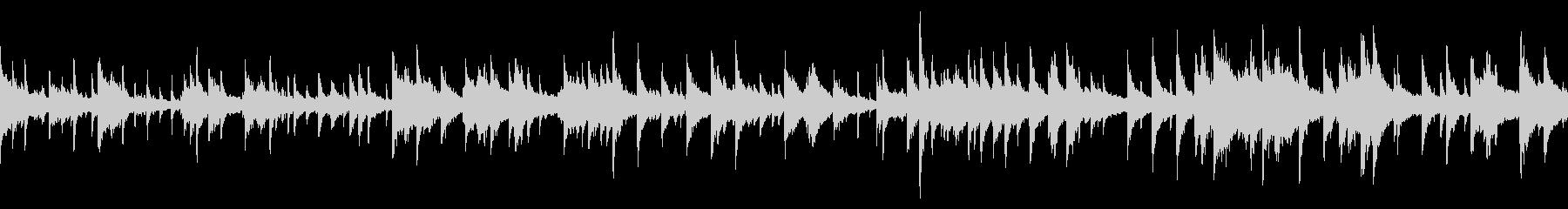 煌びやかなジャズのBGM(ループ仕様)の未再生の波形