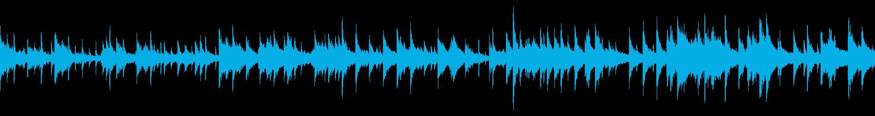 煌びやかなジャズのBGM(ループ仕様)の再生済みの波形
