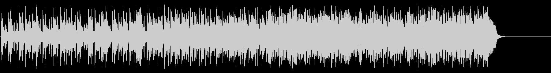 リゾート風のフュージョン(Aメロ~サビ)の未再生の波形