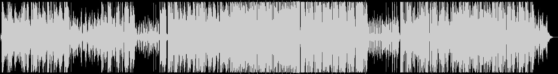 ダウナーなHIPHOPの未再生の波形