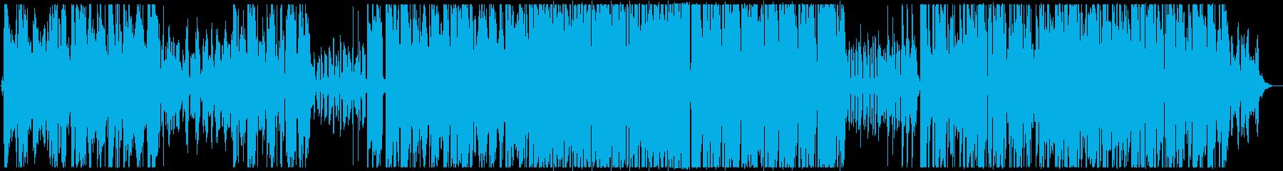 ダウナーなHIPHOPの再生済みの波形