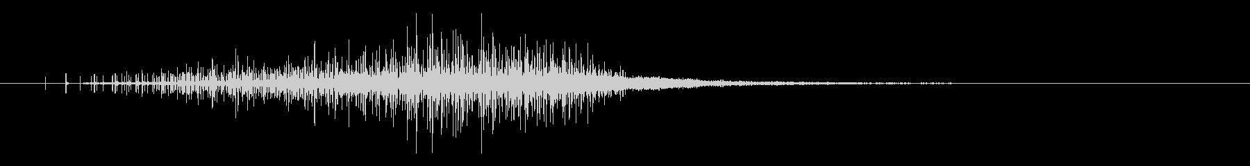 ノイズ音(不気味)1の未再生の波形