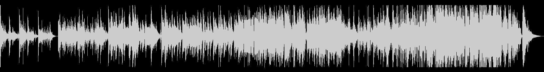 ソプラノサックスとピアノ感動的なバラードの未再生の波形