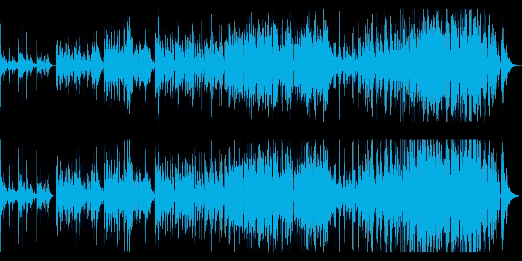 ソプラノサックスとピアノ感動的なバラードの再生済みの波形