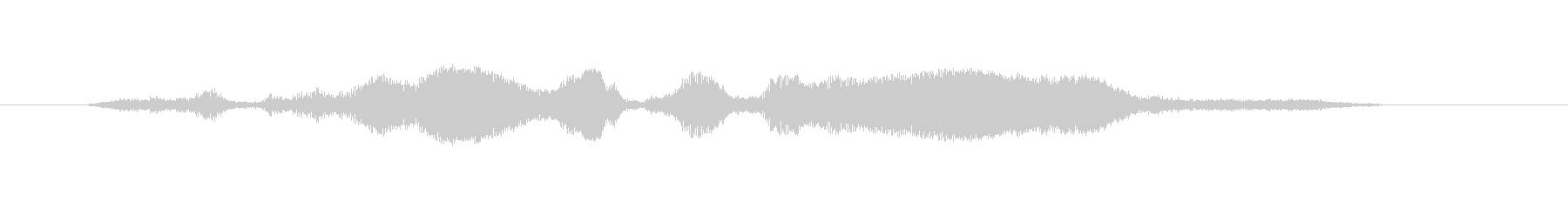 吹き損ねの笛の未再生の波形