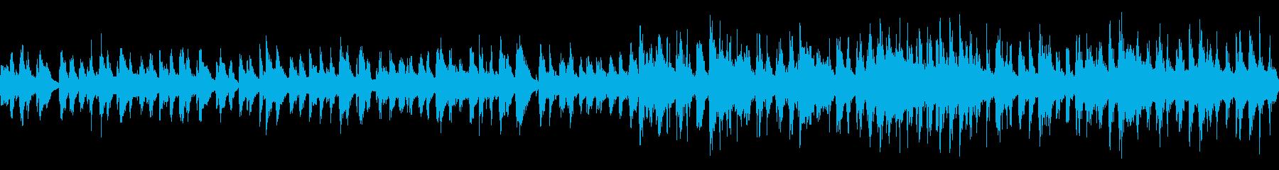 テンポの良いシロフォン【ループ素材系】の再生済みの波形