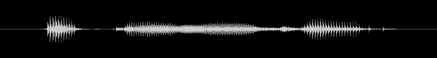 【星座】乙女座の未再生の波形