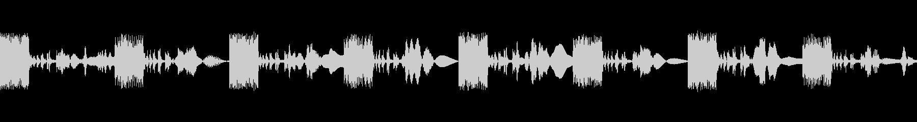 マーチングラバーエイリアンの未再生の波形