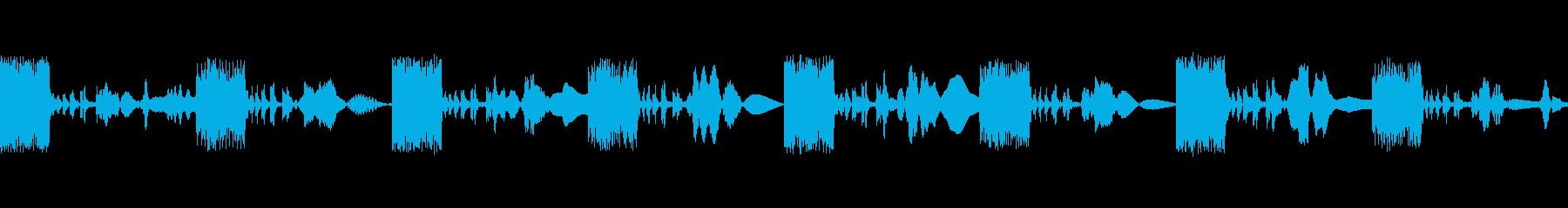 マーチングラバーエイリアンの再生済みの波形