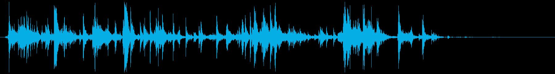グラスデブリスピル、クラッシュグラ...の再生済みの波形