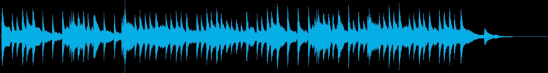 メヌエット バッハ オルゴールの再生済みの波形