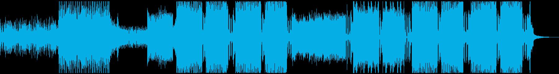 疾走感のあるシンフォニックEDMの再生済みの波形