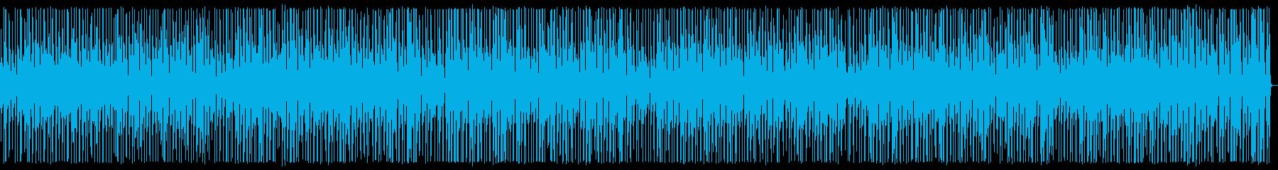 YouTube アコギ・カホン・日常の再生済みの波形