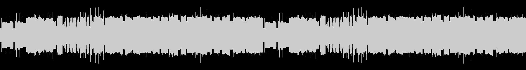 ファミコンサウンド 魔王の城の未再生の波形