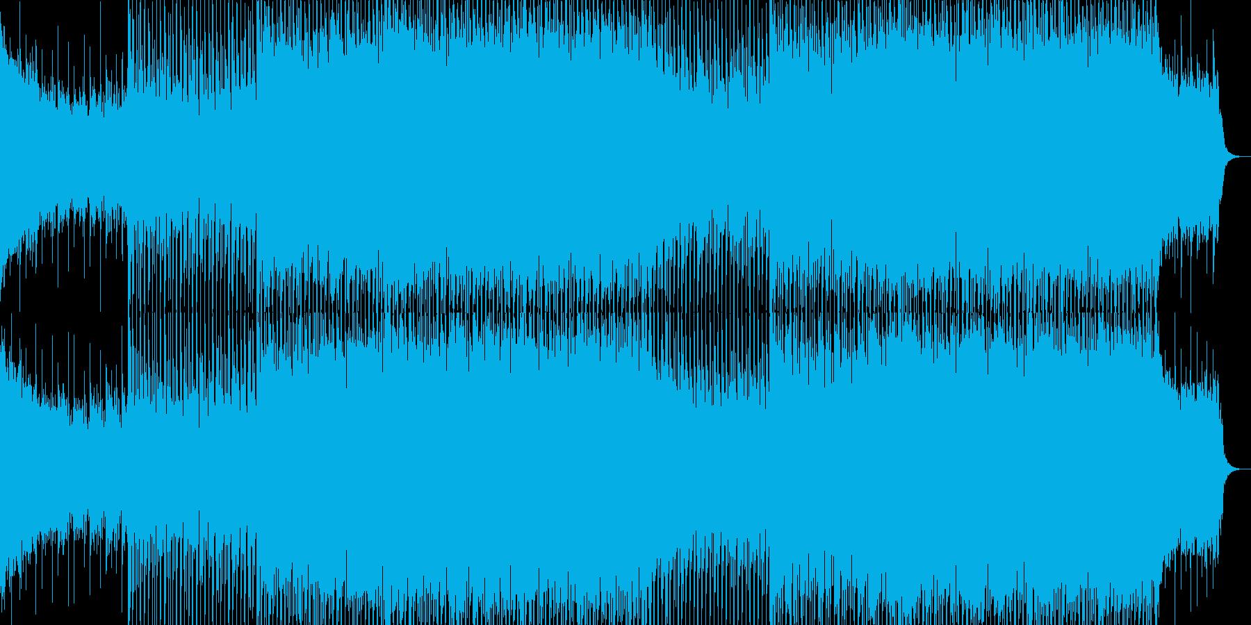 EDMクラブ系ダンスミュージック-82の再生済みの波形