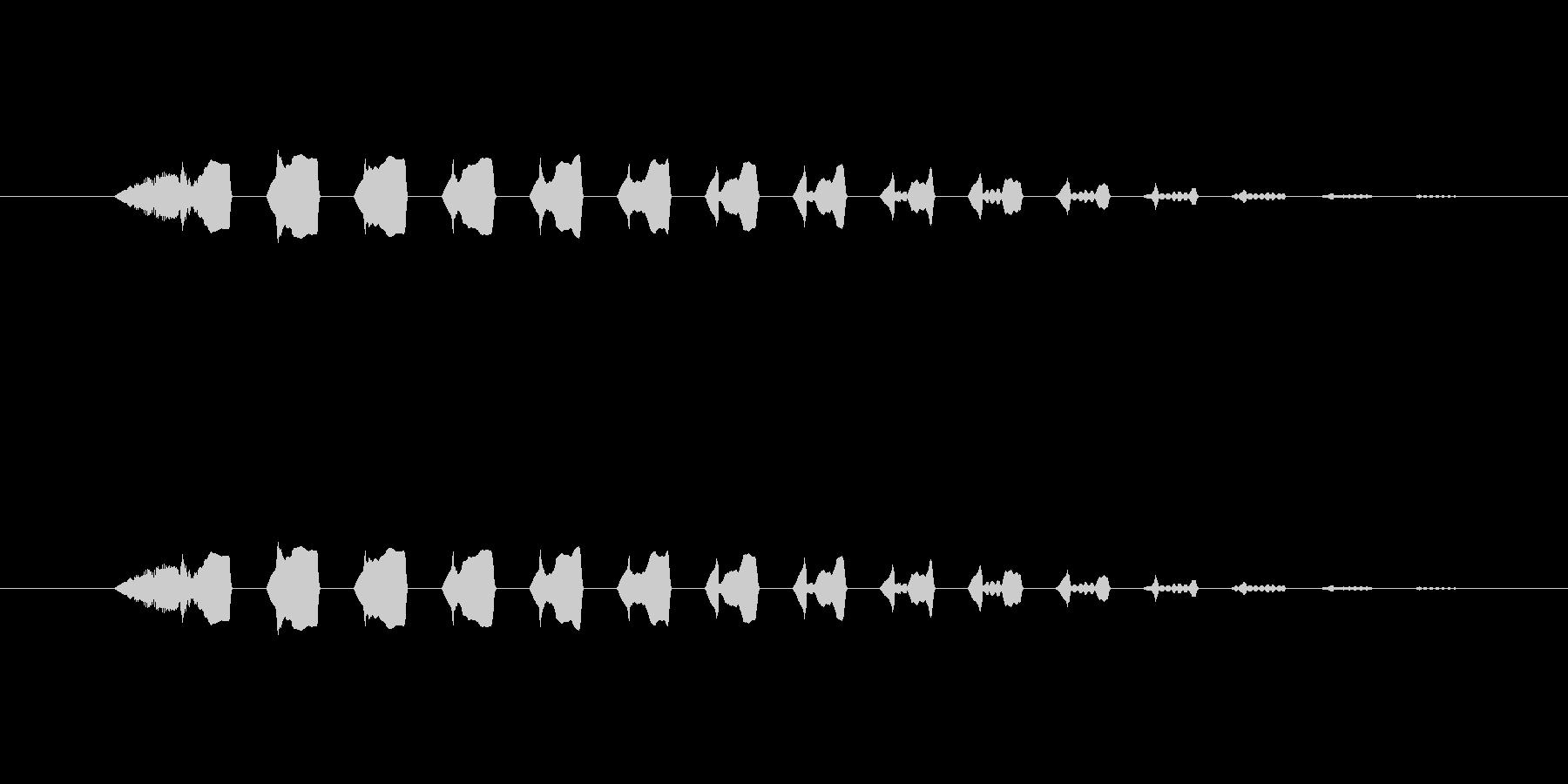 【ポップモーション37-3】の未再生の波形