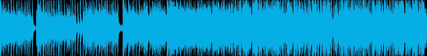 コミカルで楽しいリコーダーの可愛い日常曲の再生済みの波形