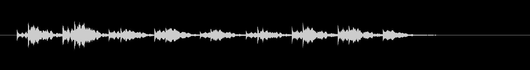 ドラムススローヒッツ3-ハートビートの未再生の波形