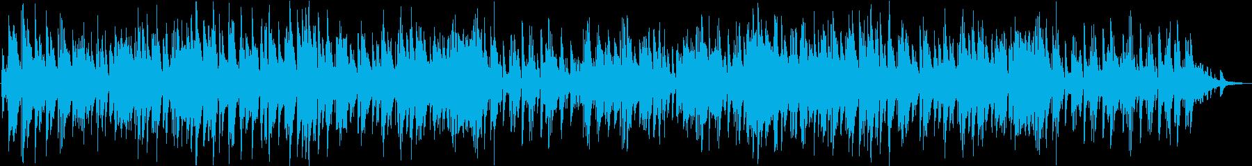バーをイメージしたジャズ/ピアノトリオの再生済みの波形