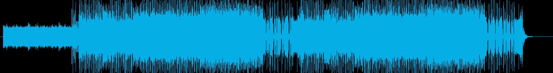 「HR/HM」「DARK系」BGM18の再生済みの波形