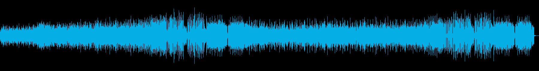 少し暗めのEDM/トラップの再生済みの波形