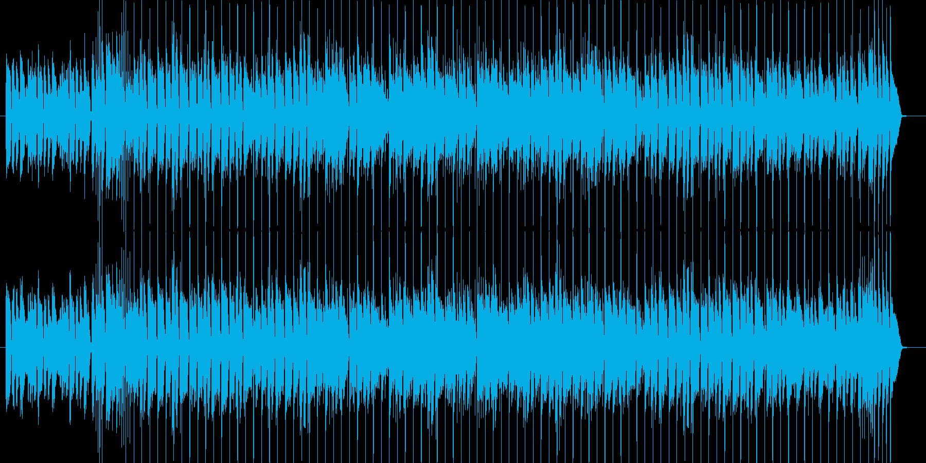 元気で明るいお洒落なボサノバ【ループ可】の再生済みの波形