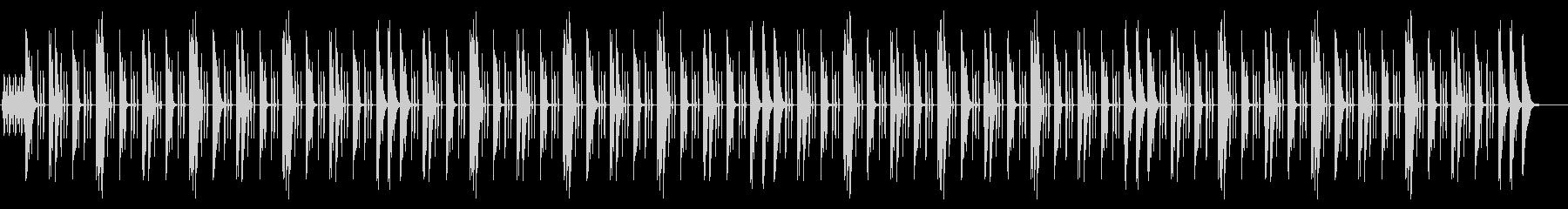 アップテンポでノリのいいインストの未再生の波形