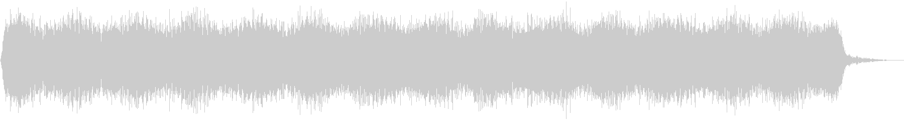 【アンビエント】ドローン_45 実験音の未再生の波形