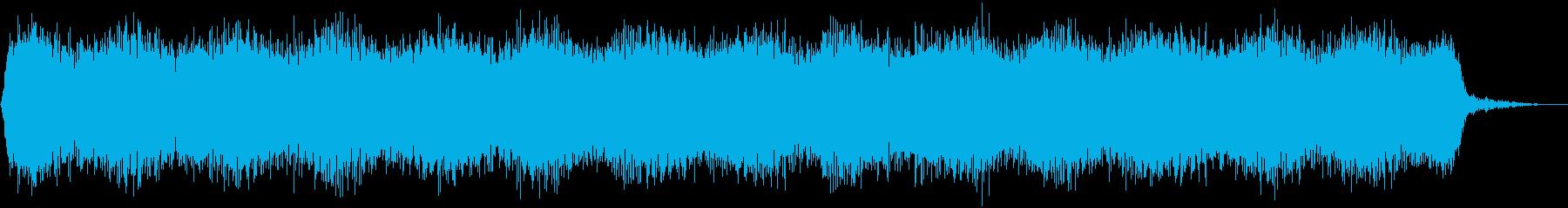 【アンビエント】ドローン_45 実験音の再生済みの波形