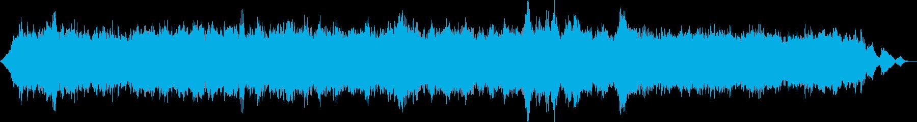 ラウドでミニマルなホラーアンビエントの再生済みの波形