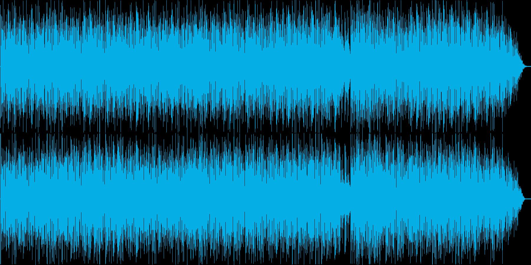 パズルゲームを意識して作った曲です。の再生済みの波形