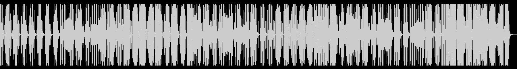 おしゃれなバーをイメージしたBGMの未再生の波形
