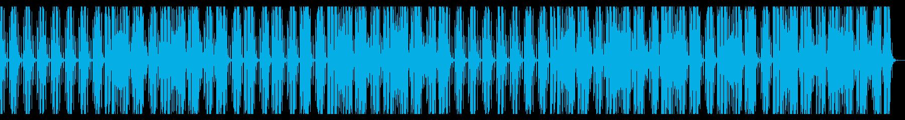 おしゃれなバーをイメージしたBGMの再生済みの波形
