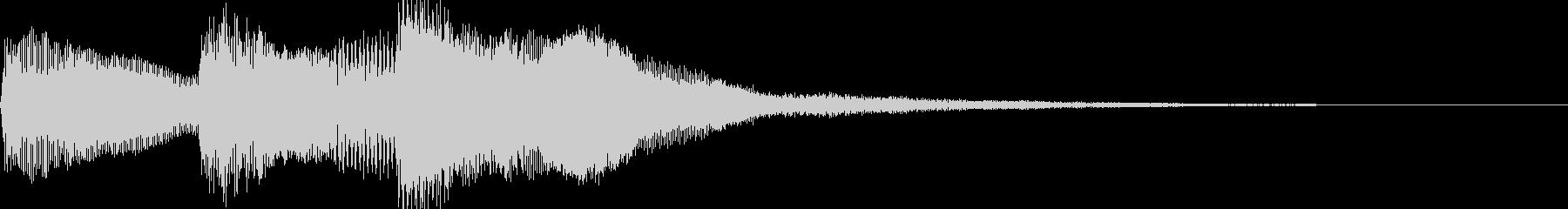 シンプルなジングル【ピアノ】その10ですの未再生の波形