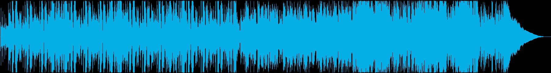 カントリー調の口笛のほのぼのした曲の再生済みの波形