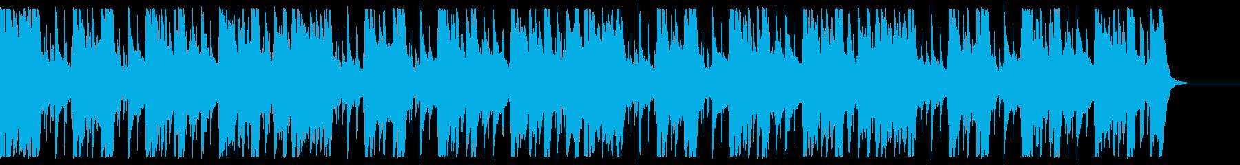 キラキラ/ローファイ_No593_5の再生済みの波形