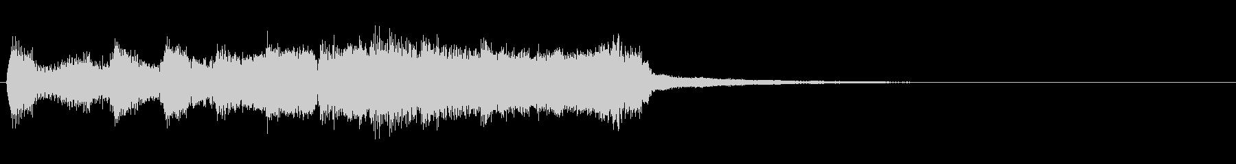 ケルトジングル 2 音程楽器のみの未再生の波形