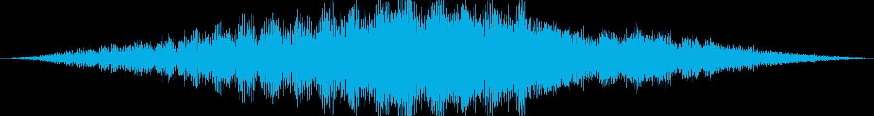 ビルの緊張、きらめく電子音、ヘビー...の再生済みの波形