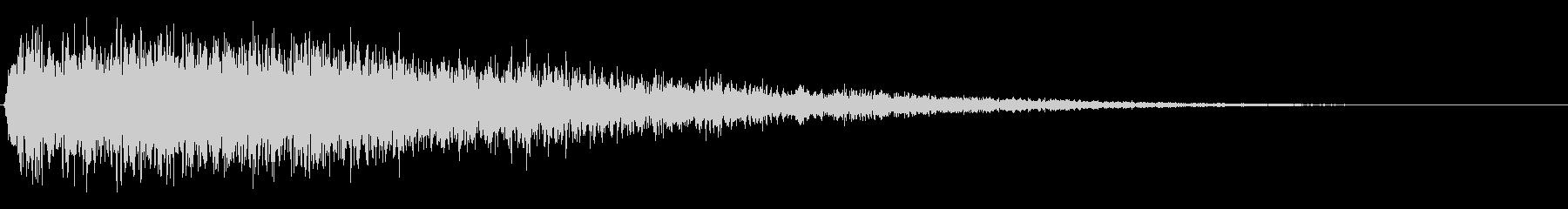 ホローブーマーインパクト1の未再生の波形