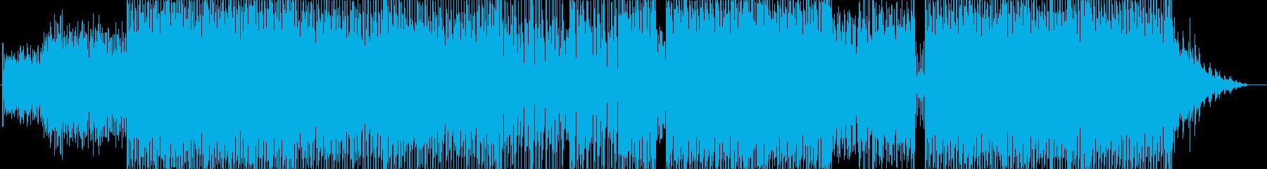 明るくノリのいいテクノポップの再生済みの波形