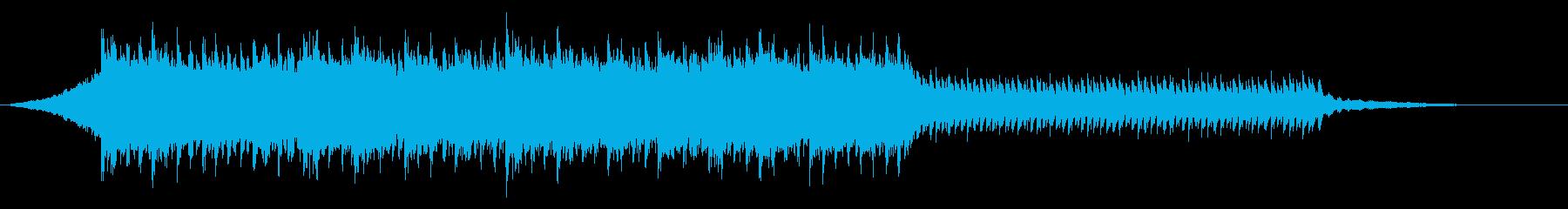 コンセプトムービ<60秒CM>未来のCMの再生済みの波形