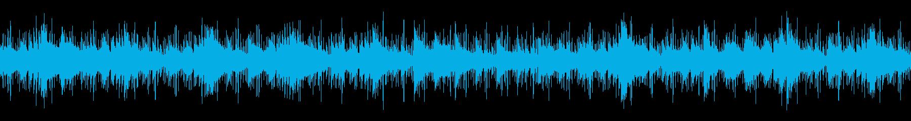 動画 エレキギター シンセサイザー...の再生済みの波形