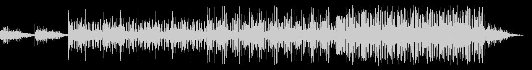 波の音が特徴的なミステリー向け曲の未再生の波形