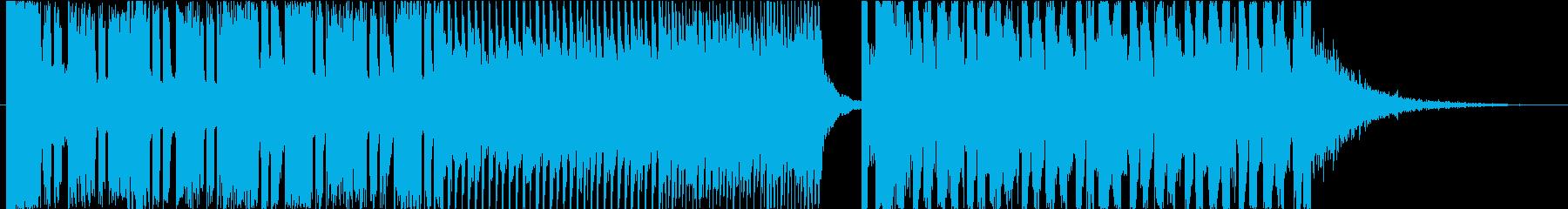 ベタな構成のビッグルームEDMの再生済みの波形