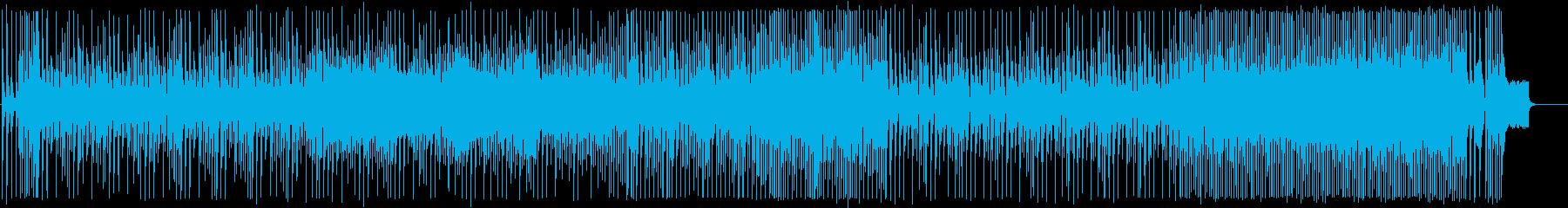 和風ファンク 踊れる三味線&尺八の再生済みの波形