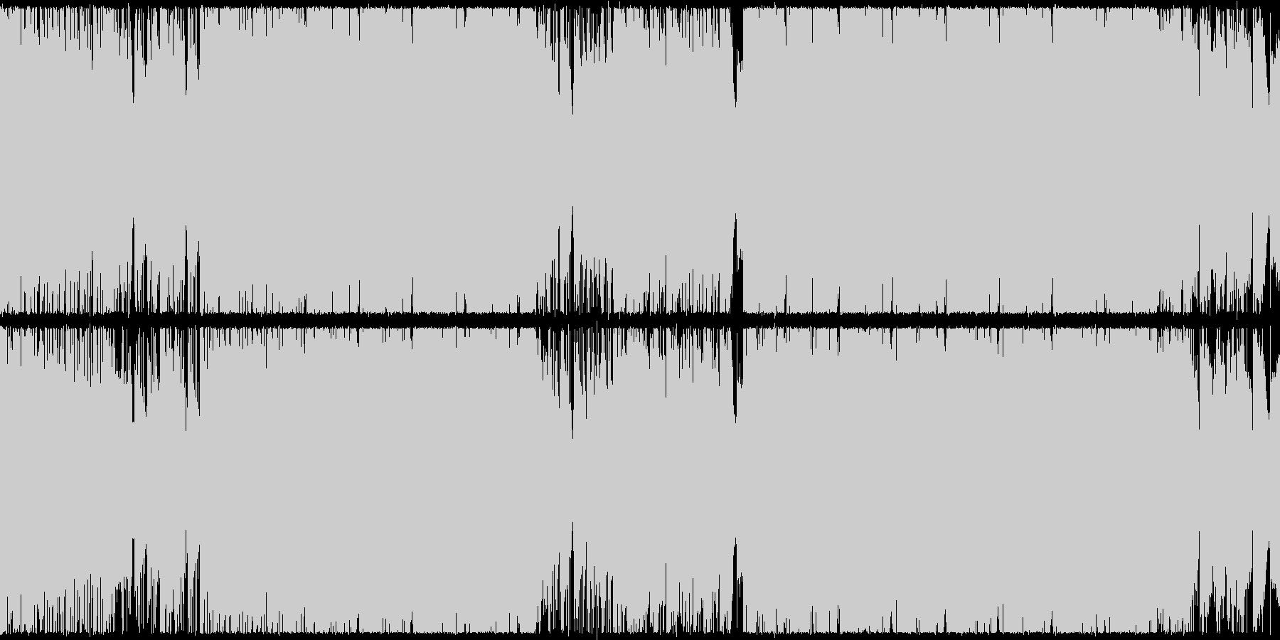 ループ、シューティング、アクション向けの未再生の波形