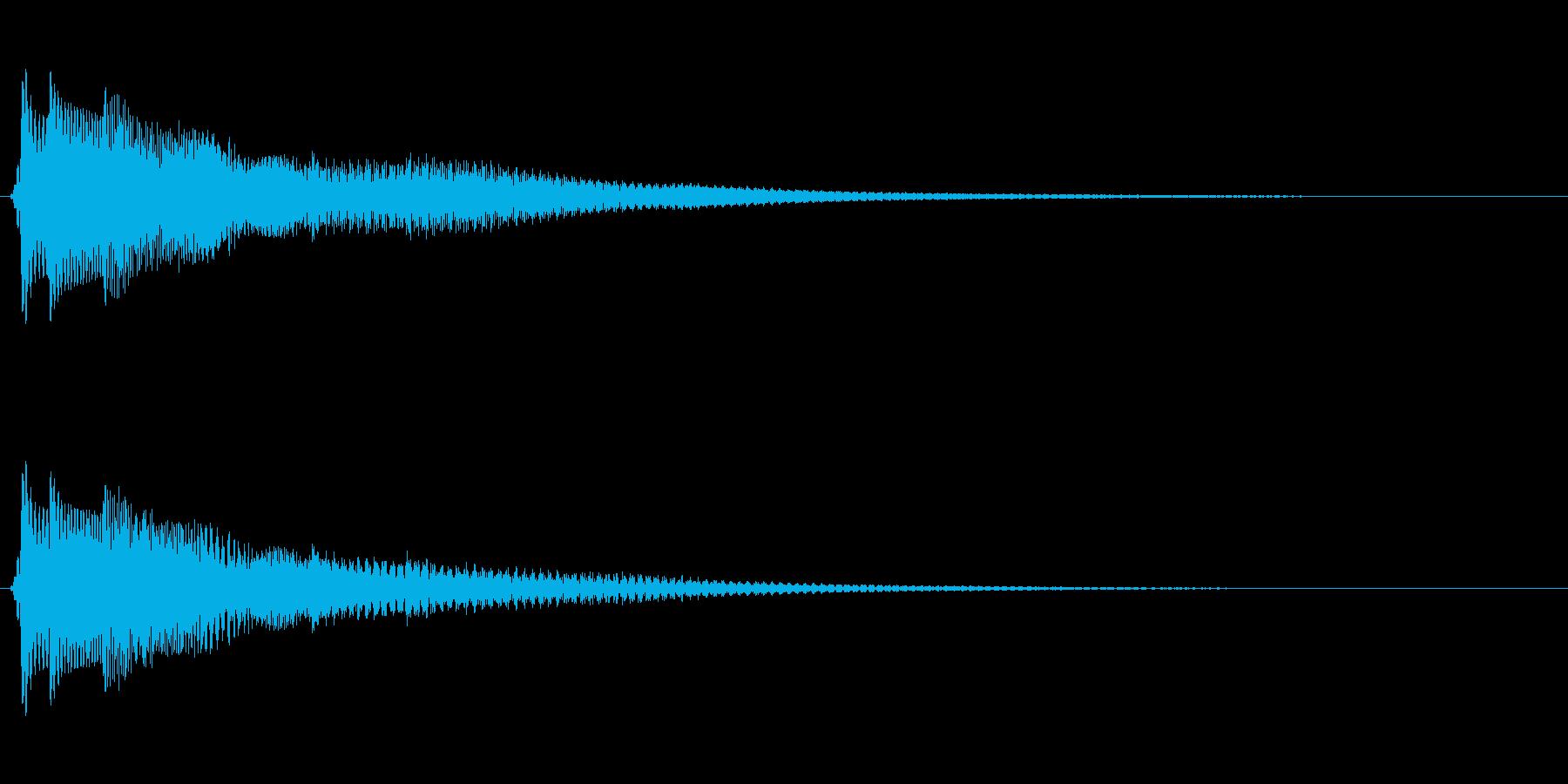 光『きらりん』の再生済みの波形